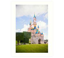 Le Château de la Belle au Bois Dormant Art Print