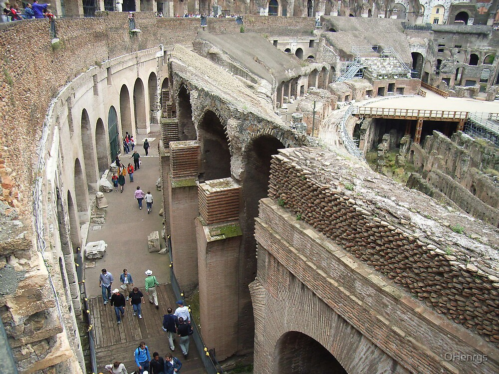Ancient Ruins in Rome by OHenrys