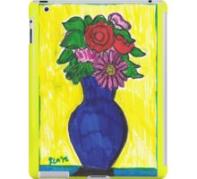 Floral Arrangement For A Rainy Afternoon iPad Case/Skin