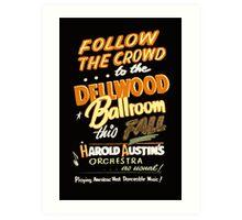 Dellwood Ballroom Art Print