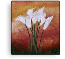 Cala Lily's Canvas Print