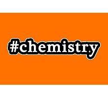 Chemistry - Hashtag - Black & White Photographic Print