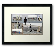 .....and some days are grey......... Framed Print