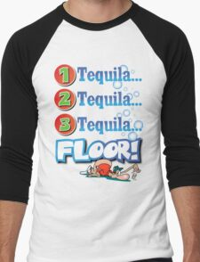 tequila! Men's Baseball ¾ T-Shirt