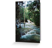 Dunns River Falls Greeting Card