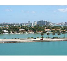 Port of Miami Photographic Print
