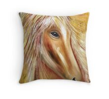 Eloquent Equine Throw Pillow