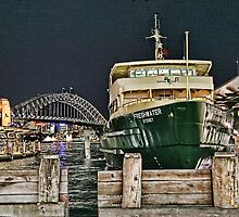 Sydney Series - Manly Ferry by sparrowhawk