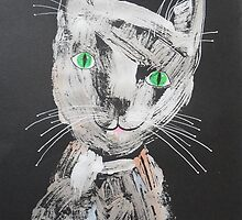 Funky Cat 1 by BeatriceM