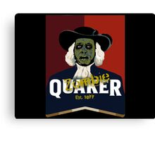 Zombie Oats Canvas Print