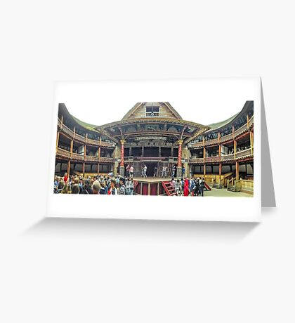 Touring The Globe Greeting Card