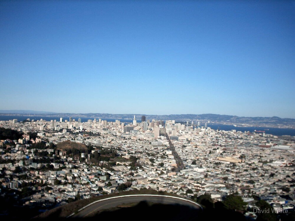 veiw from golden gate  by David White