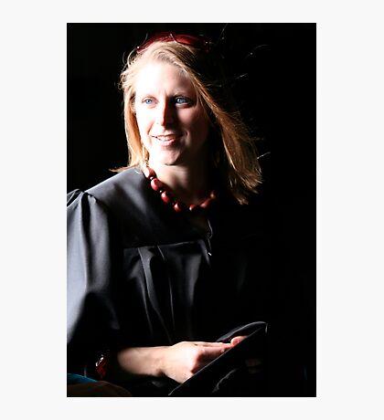 Masters Grad Photographic Print