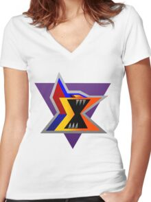 Sigma - Maverick Women's Fitted V-Neck T-Shirt