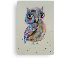 Quirky Owl 2 Canvas Print