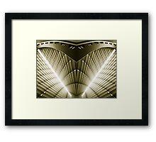 Museum Framed Print