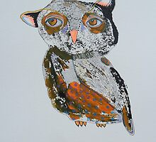 Quirky Owl 4 by Bea Roberts