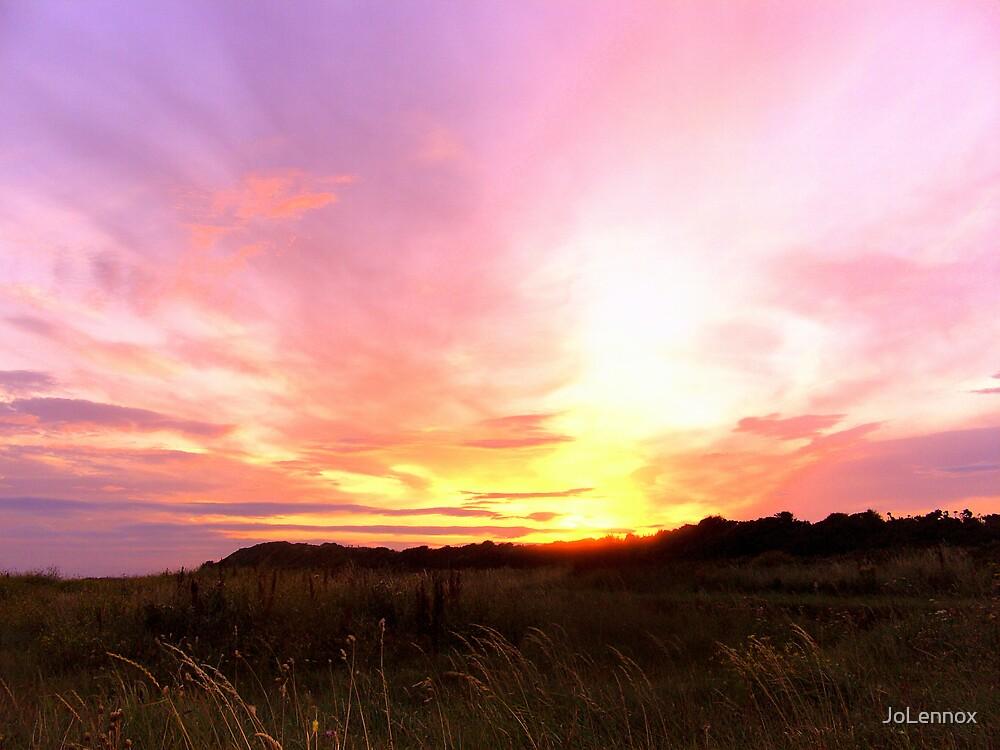 Pink Sky In The Morning, Shepherds Warning by JoLennox