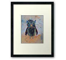 Baby Owl 1 Framed Print