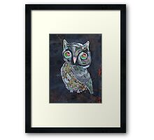 Quirky Owl 5 Framed Print
