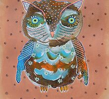 Quirky Owl 6 by Bea Roberts