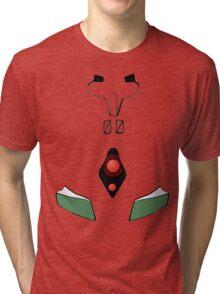 Rei Ayanami Plugsuit - 00 Tri-blend T-Shirt