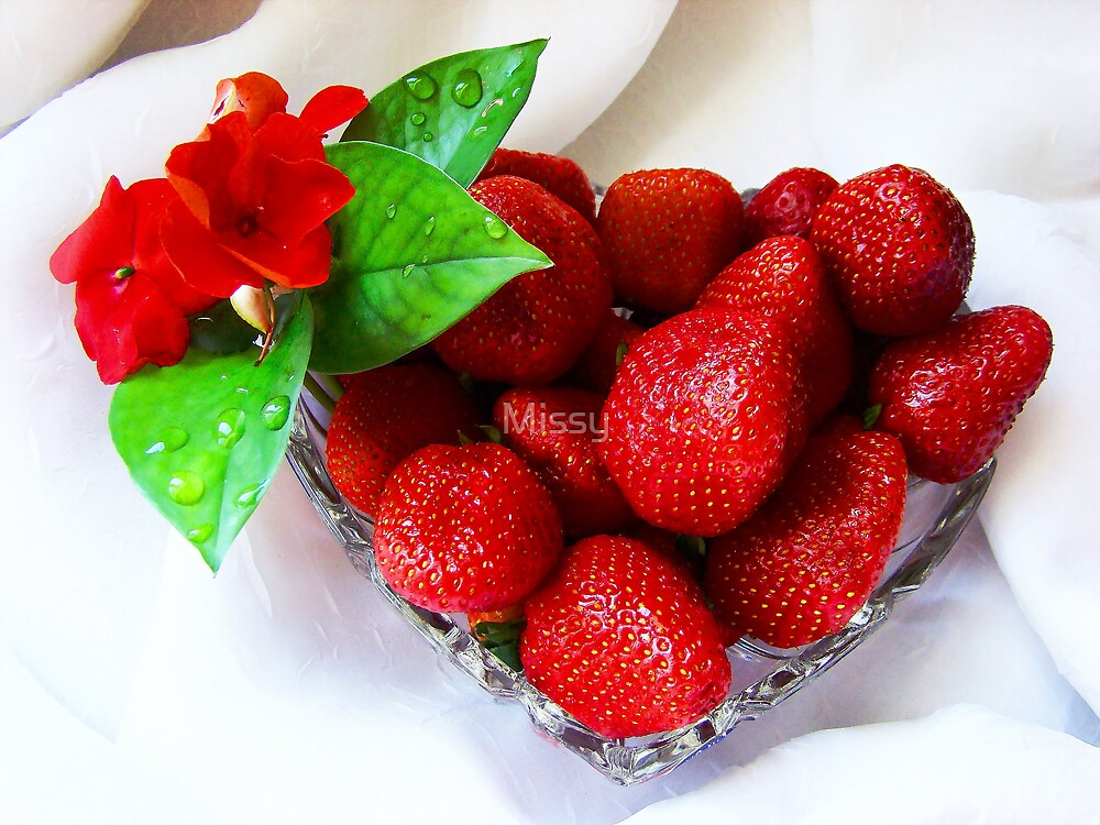 Strawberries by Missy
