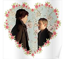 Johnlock Hearted Poster