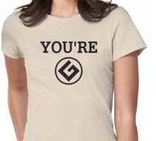 Grammar Nazi - YOU'RE Womens Fitted T-Shirt