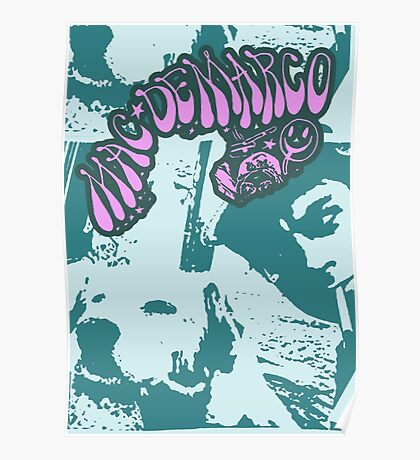DeMarco psychedelic  fan art  Poster