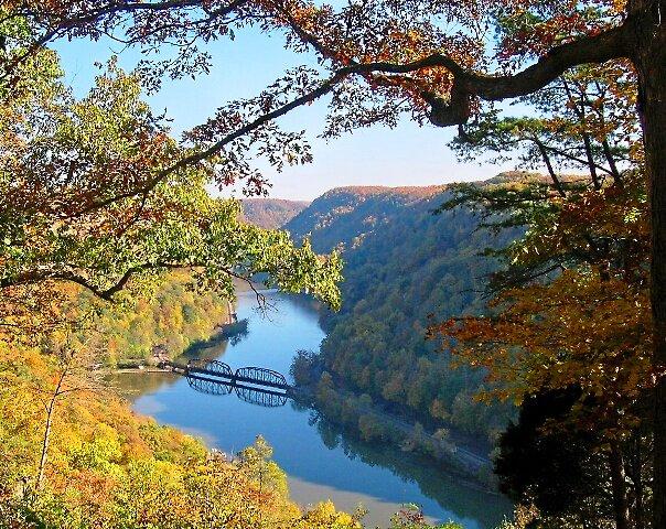 New River in Fall /Jack Boyd by JackBoyd