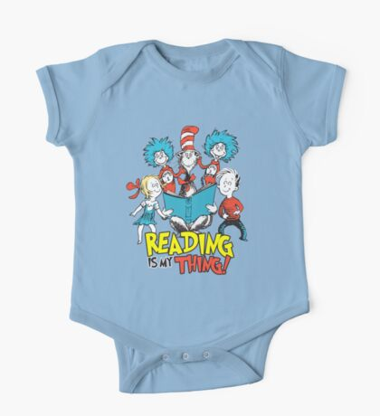 Reading Is My Thing One Piece - Short Sleeve