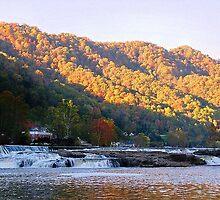 Kanawha Falls, WV. /Jack Boyd by JackBoyd