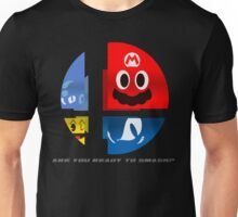Are Ready to Smash? (Silhouette Var.) Unisex T-Shirt