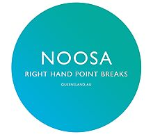 Noosa Surfing Photographic Print