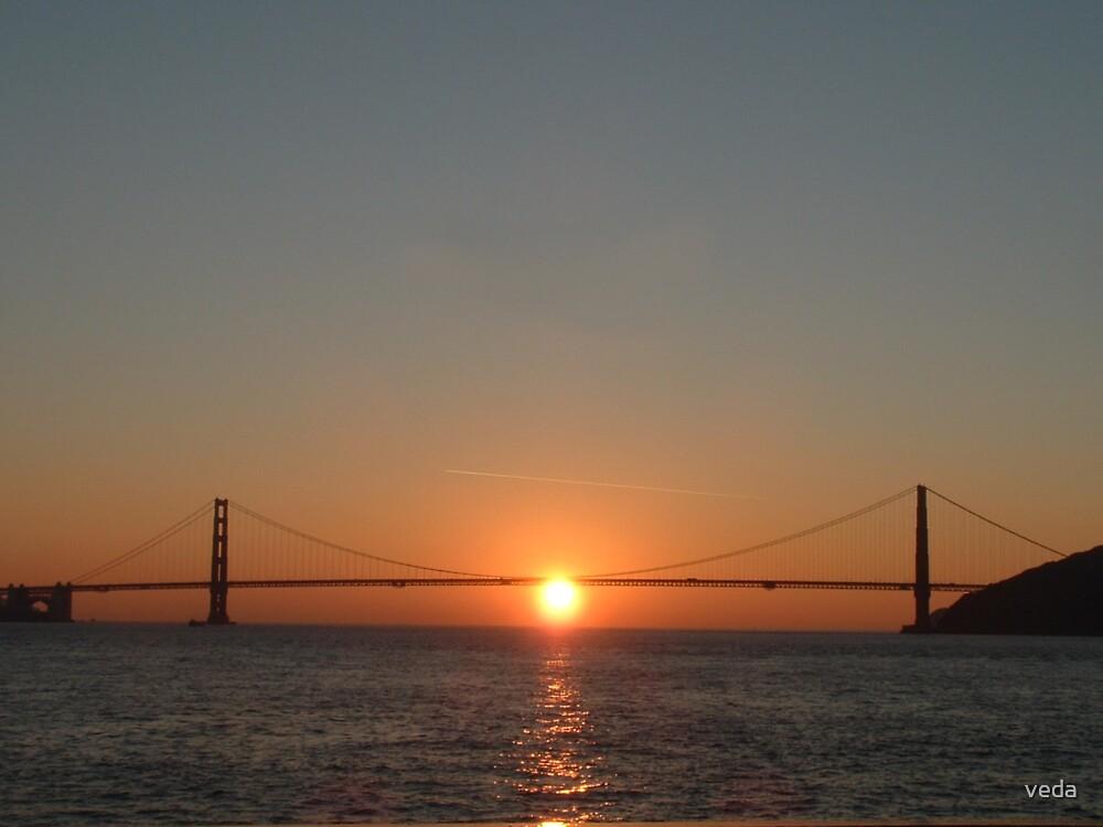 Golden Gate Bridge by veda