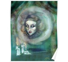Let There Be Music - Madame Leota Haunted Mansion Art Poster