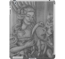 Lady with a Sauropod iPad Case/Skin