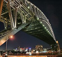 Sydney Series - Under the bridge by sparrowhawk
