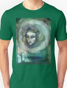 Let There Be Music - Madame Leota Haunted Mansion Art T-Shirt