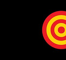 Yellow and RED target by jazzydevil
