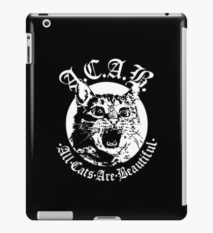 All Cats Are Beautiful iPad Case/Skin