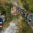 """Narrow Boat Lane"" by Bradley Shawn  Rabon"