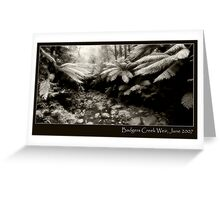 Badgers Creek Greeting Card