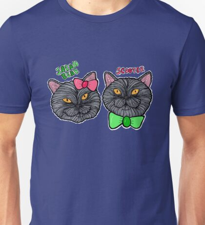 Kittyliciousness Sarah Bear and Scooter Unisex T-Shirt