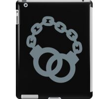 Handcuffs in grey iPad Case/Skin