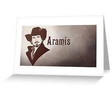Aramis Greeting Card