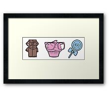 Sweet sweets Framed Print