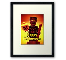 Happy Birthday Frankensteins Monster Framed Print