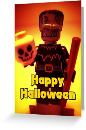 Happy Birthday Frankensteins Monster by Customize My Minifig